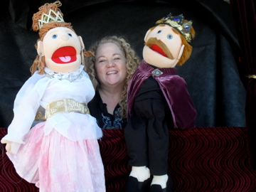 Puppets with Nanette